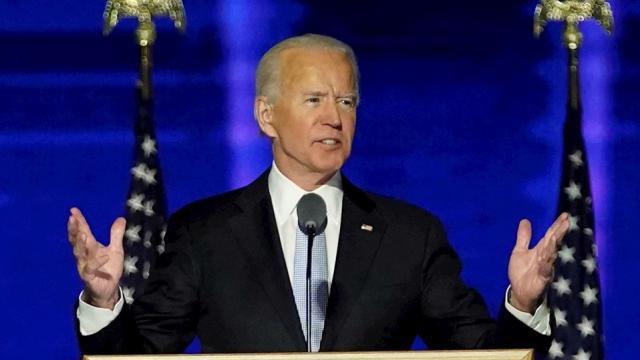 Joe Biden, presidente electo de los Estados Unidos