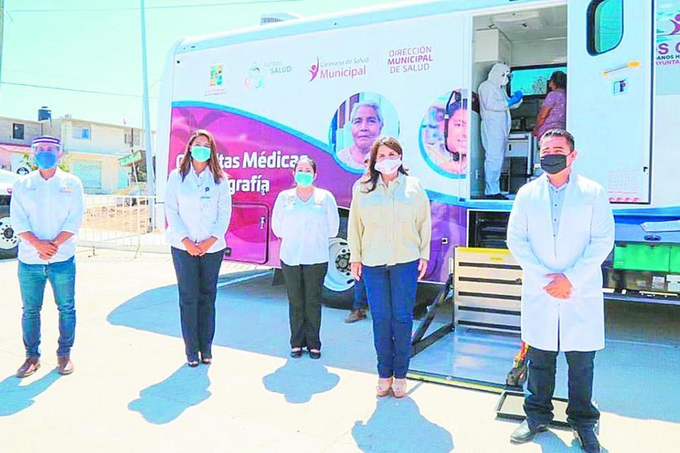 40 mil servicios médicos a través de Caravanas de la Salud