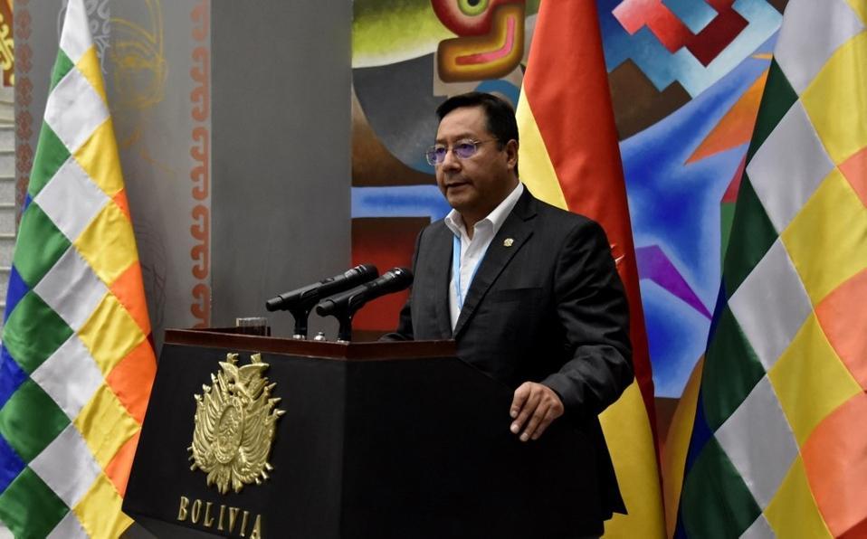 Luis Arce presiente de Bolivia