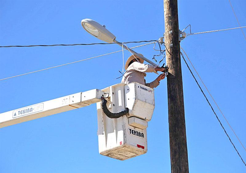 Reparan más de 6 mil 200 luminarias hasta agosto de 2020