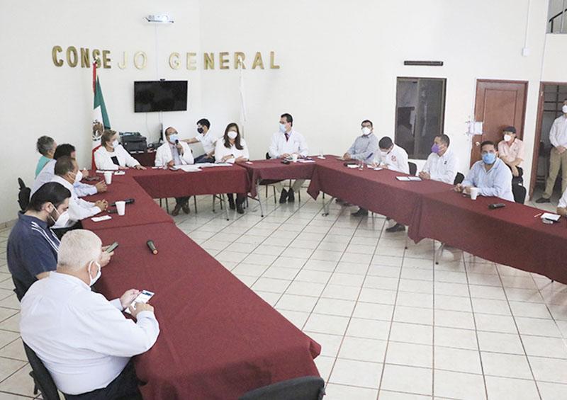 Salud, IEE y partidos signan pacto por prevención de Covid-19