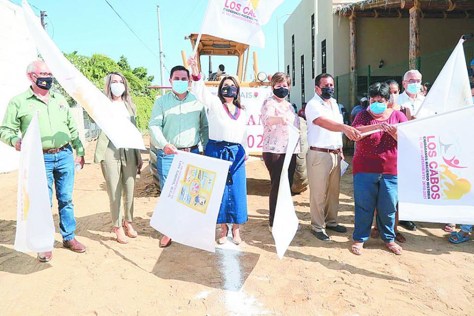 Avanza mejoramiento de viviendas, caminos y red de agua potable