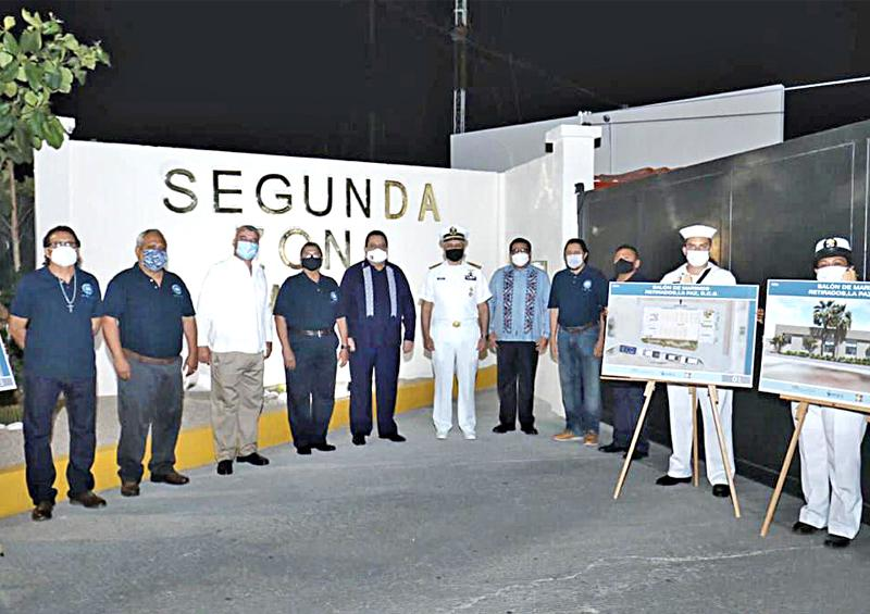 Obras a favor de  marinos militares retirados y de pescadores