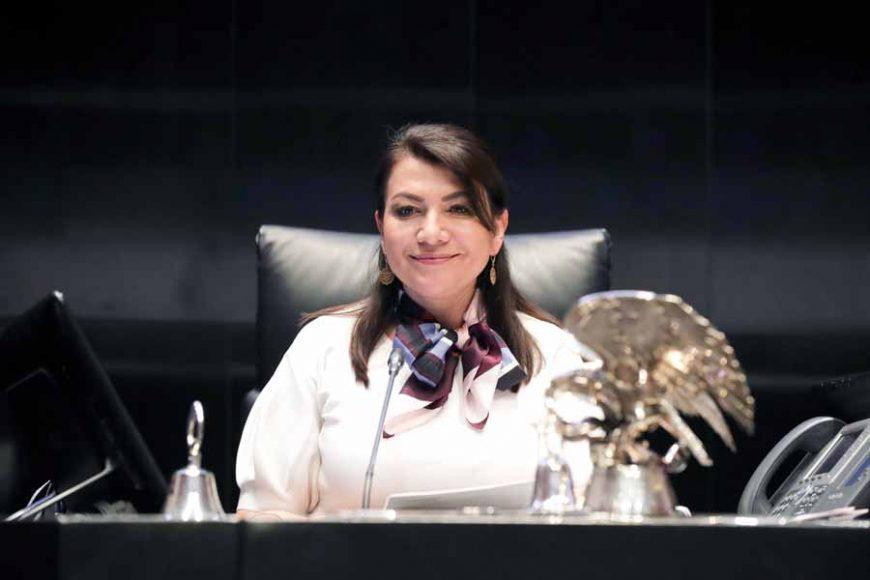 Senadora Guadalupe Saldaña Cisneros