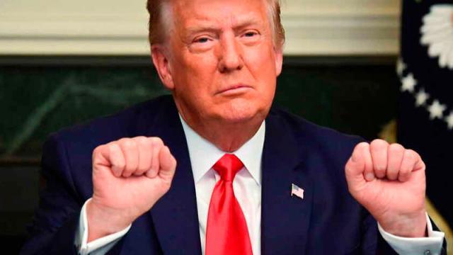 Trump promete vetar la ley de presupuesto de defensa de EEUU