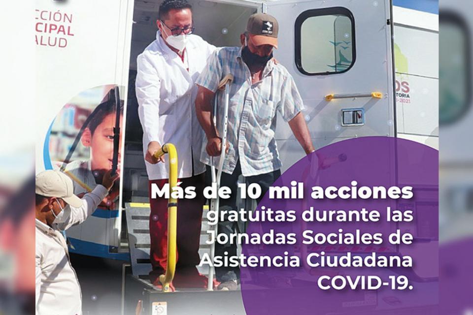 Los Cabos es ejemplo nacional por hacer frente al coronavirus