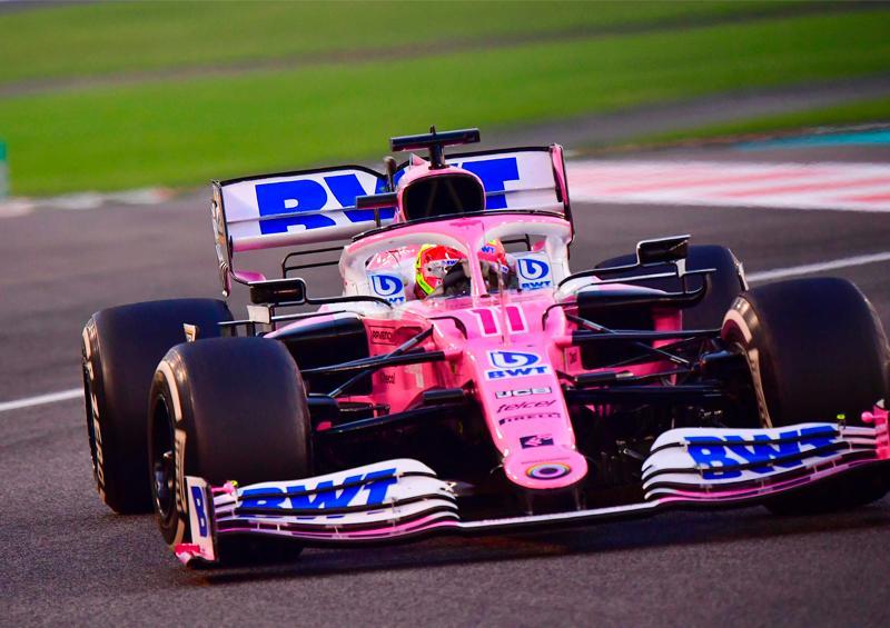 """""""Checo"""" Pérez abandona el Gran Premio de Abu Dhabi"""