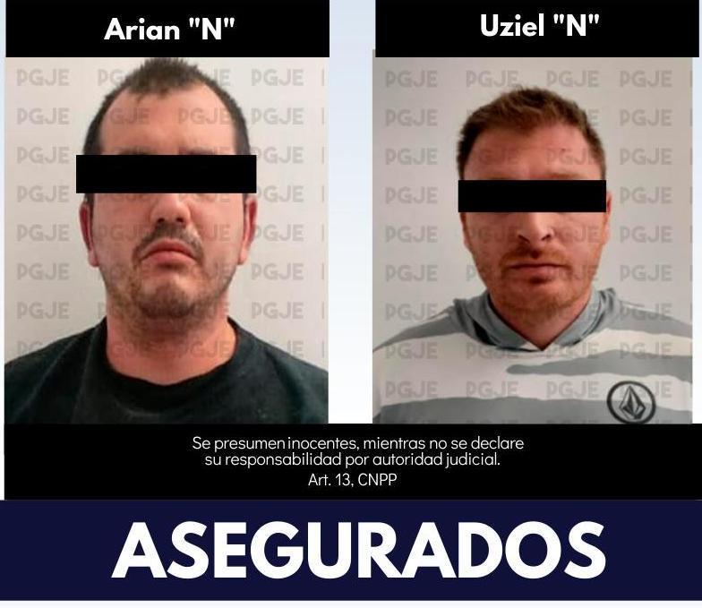 Detenidos por posesión de drogas