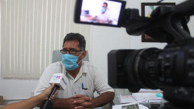 Mario Miguel Monroy, director municipal de Aseo y Limpia de Servicios Públicos