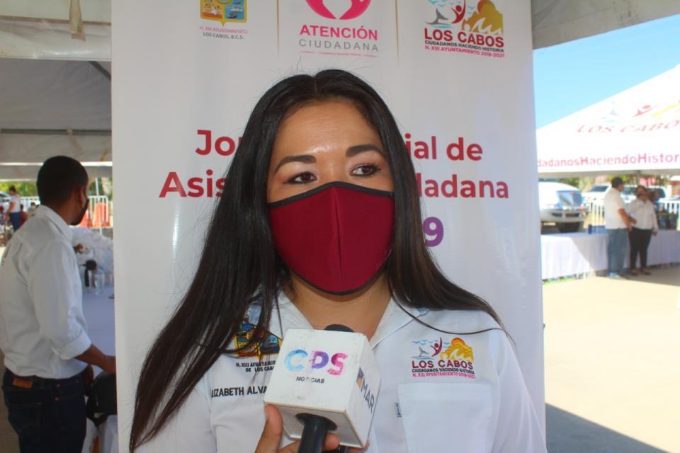 Elizabeth Álvarez Rosas, delegada de Santiago