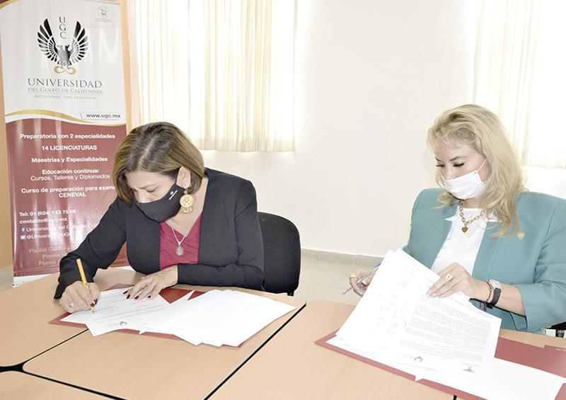 Firma IMMLC convenio de colaboración con UGC