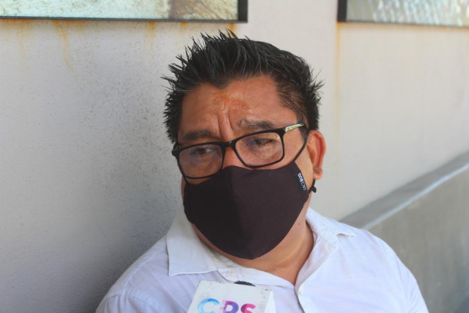 Dirigente de Morena en Baja California Sur, Alberto Rentería Santana