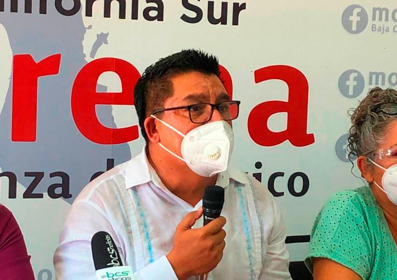 7 aspirantes a la pre candidatura de Morena a la gubernatura de BCS