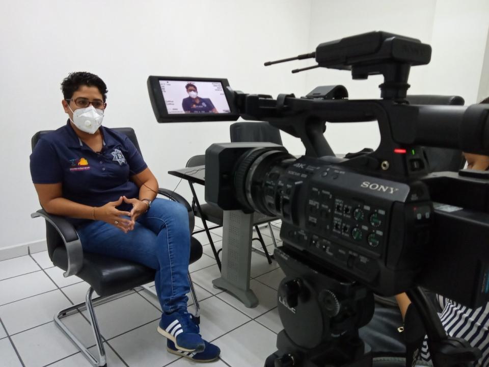 Directora de Atención Ciudadana y Vinculación Social de Seguridad Pública en Los Cabos