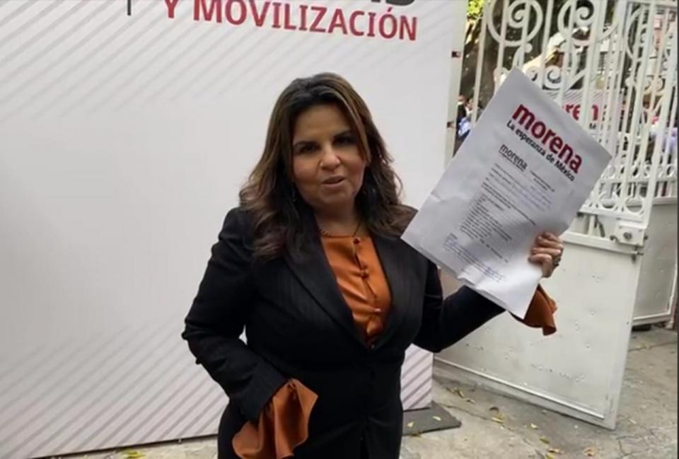 Armida Castro, se registra para la candidatura a la gubernatura