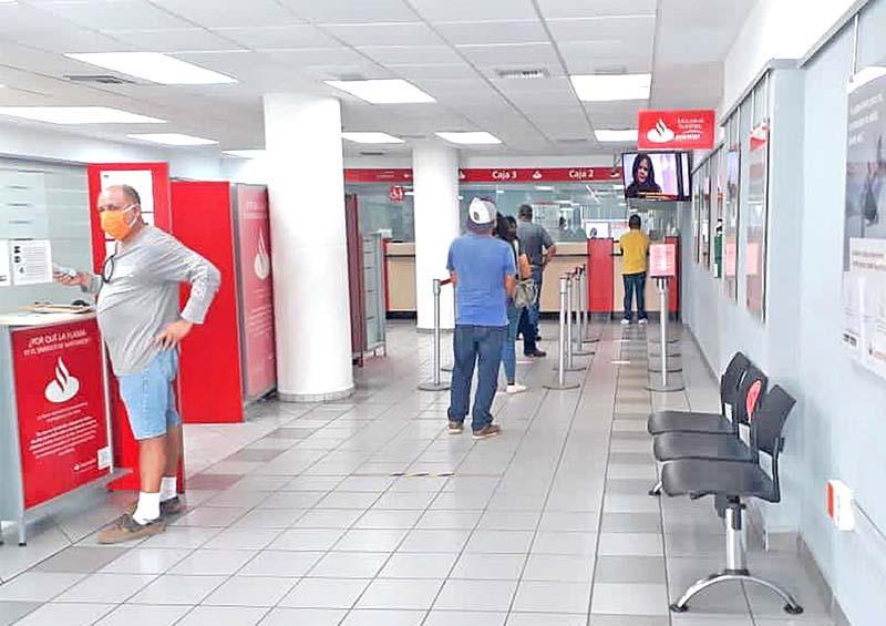 Centros bancarios cabeños deben cumplir medidas sanitarias