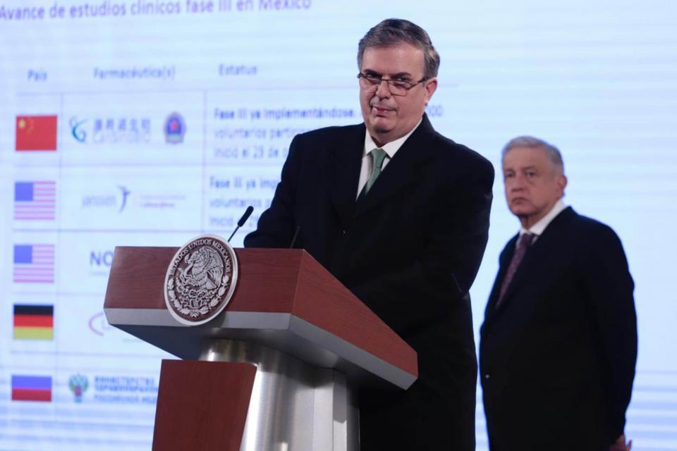 Secretario de Relaciones Exteriores, Marcelo Ebrard