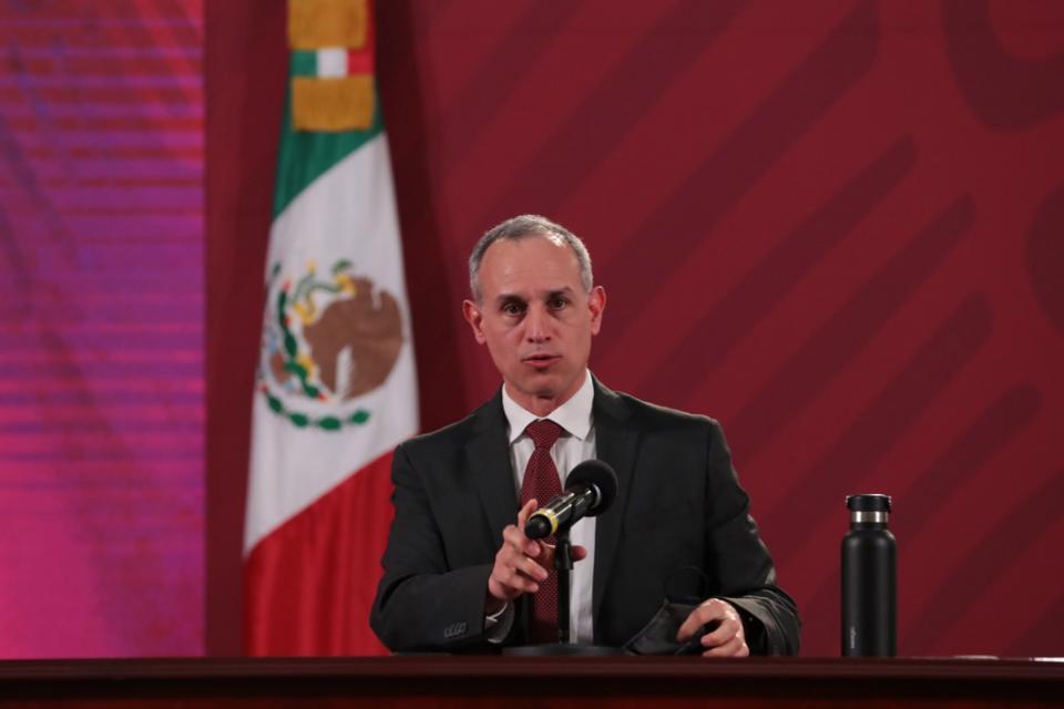 Actualización de casos por covid-19 en México