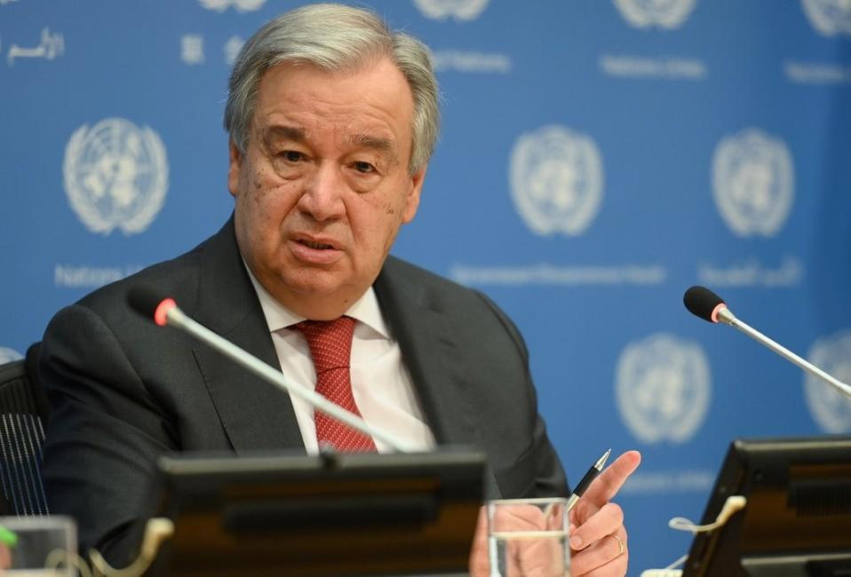 Antonio Guterres, ONU
