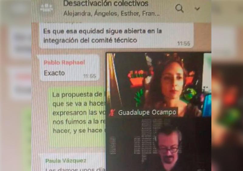 Renuncian 2 funcionarios a Secretaría de Cultura tras polémico chat