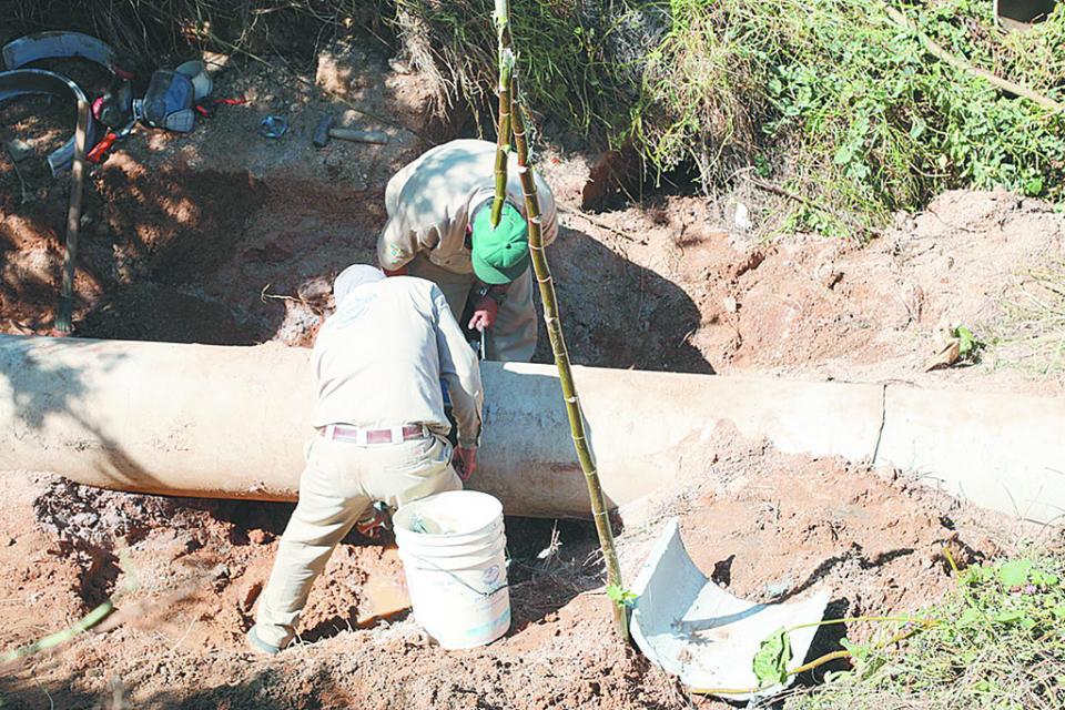Restablecen envío de agua a CSL