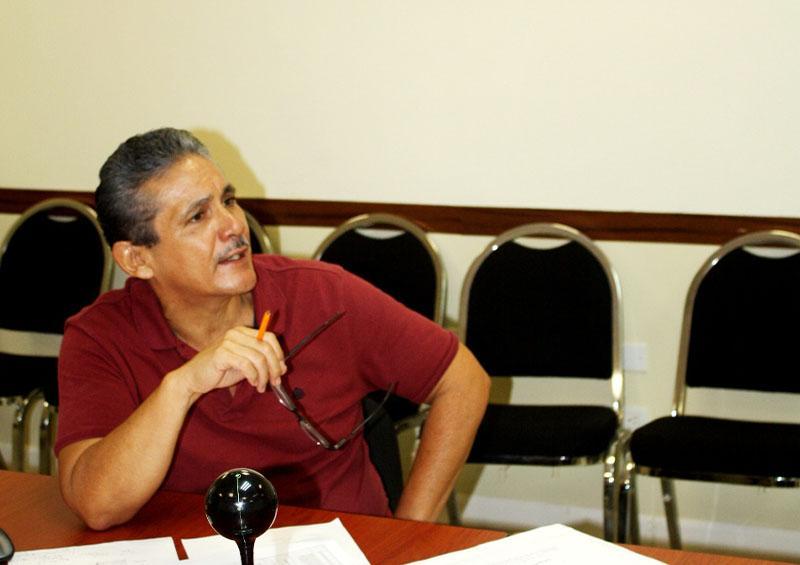 Presidente ejecutivo del Consejo Coordinador de Los Cabos, Julio Castillo Gómez
