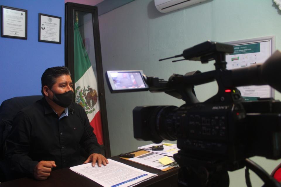 René Hernández Jiménez, jefe de Servicios Regionales de la SEP en Los Cabos