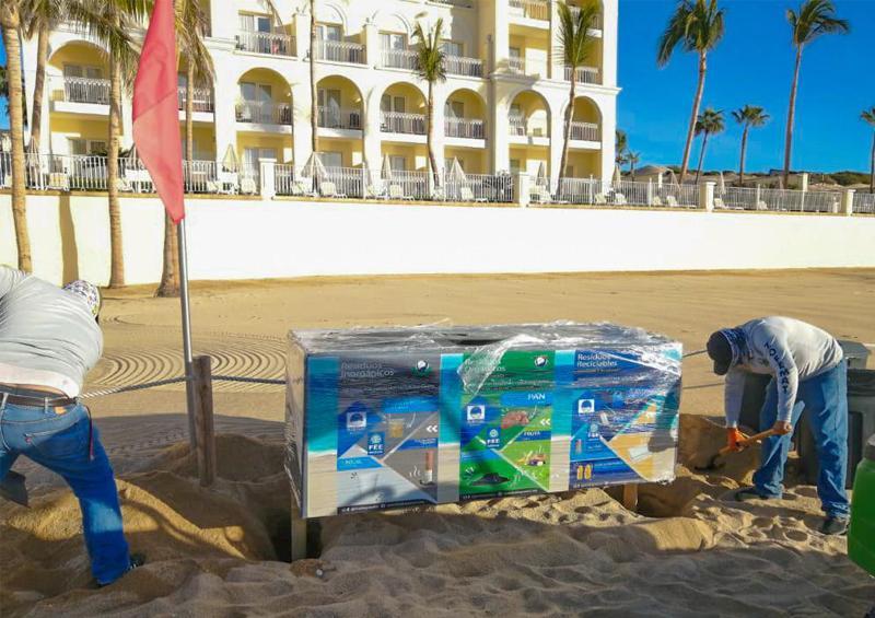 Nuevos módulos para acopio de residuos sólidos en playas cabeñas