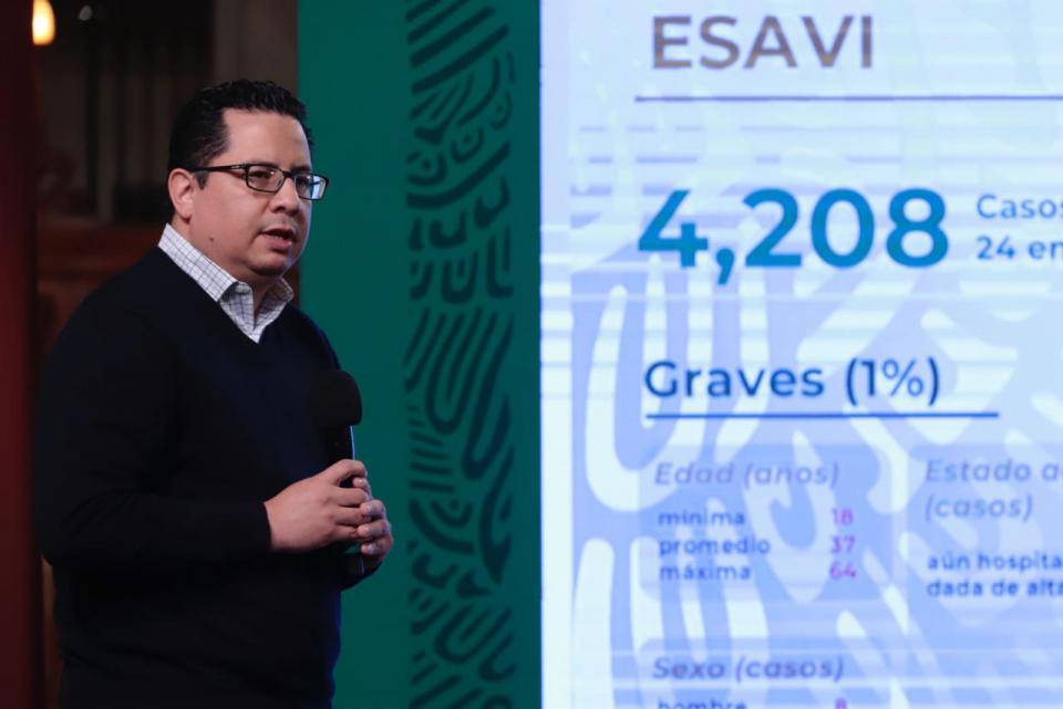 José Luis Alomía, director general de Epidemiología