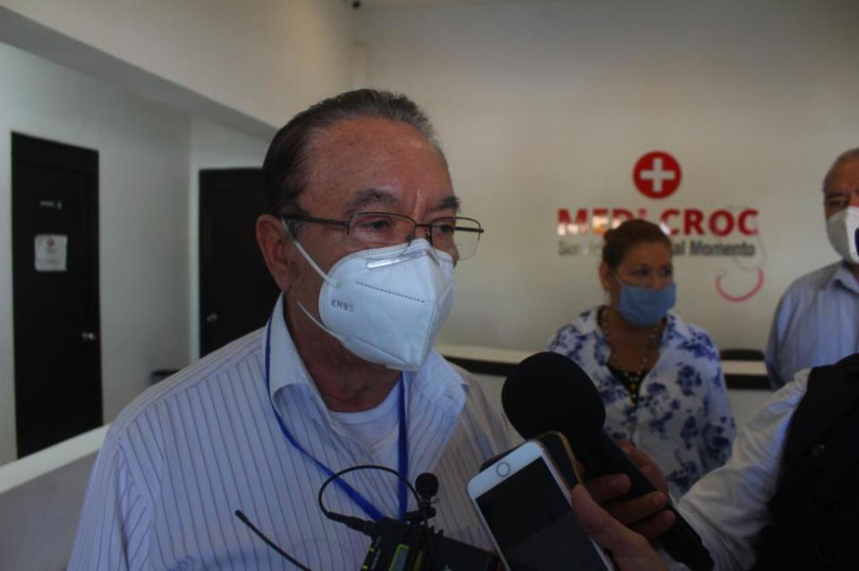 Diputado federal y dirigente nacional de la CROC, Isaías González Cuevas