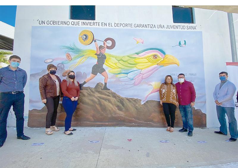 """Reconocimientos a través de """"Murales de Gloria Juventud Cabeña"""""""