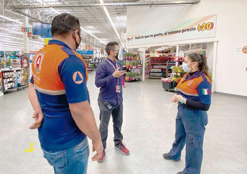 Vigila PC  respeto a lineamientos de higiene en supermercados