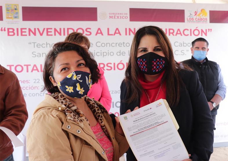 Entrega Gobierno de Los Cabos 800 acciones de vivienda