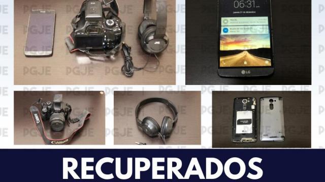 Recupera PGJE objetos con reporte de robo en Loreto