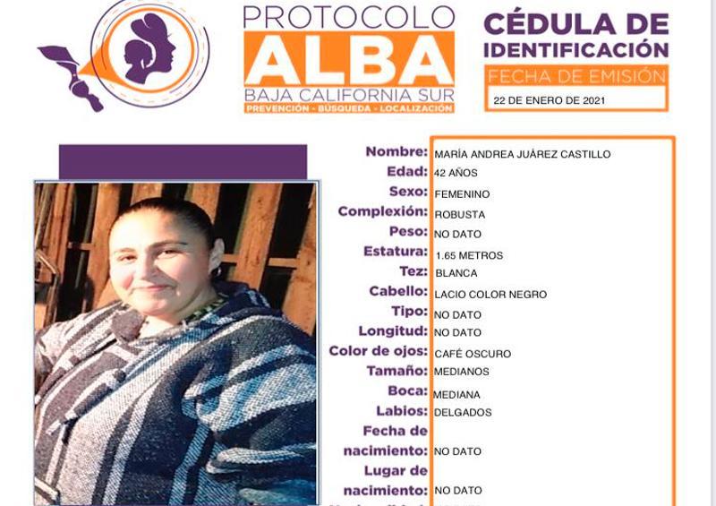 Desaparece una mujer de 42 años en CSL