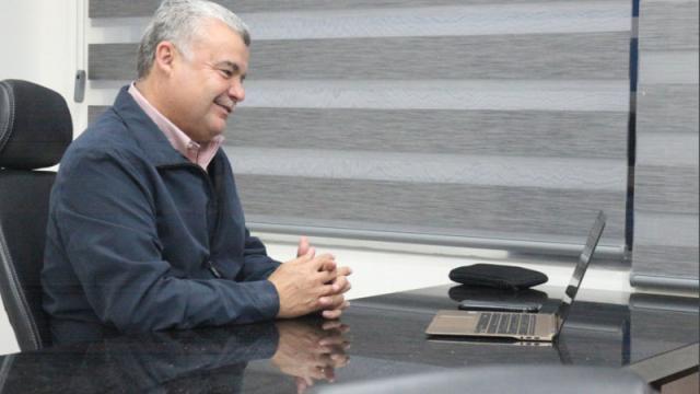 José López Soto, titular de la Administración Portuaria Integral de La Paz (API)