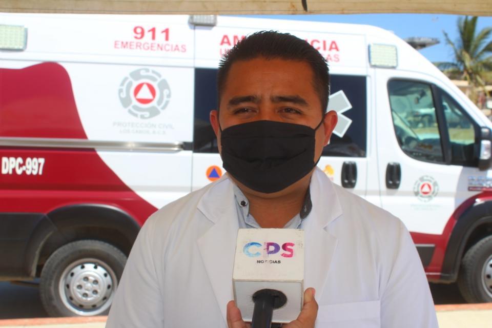 Adán Monroy director municipal de Salud en Los Cabos