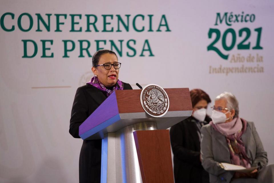 Secretaria de Seguridad, Rosa Icela Rodríguez