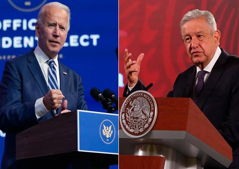 "Joe Biden no ve a México como ""el patio trasero de EU"": AMLO"