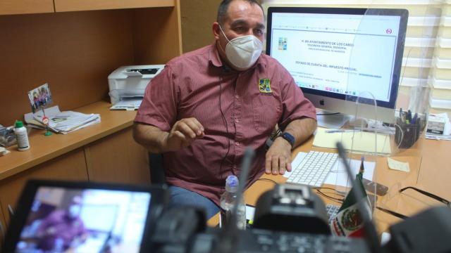 Ricardo Verdugo Llanas, director municipal de Ingresos