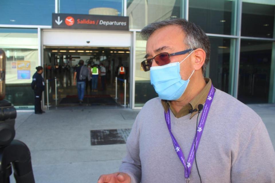 Administrador del aeropuerto internacional, Francisco Villaseñor
