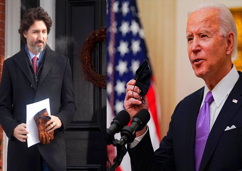 Joe Biden y Justin Trudeau
