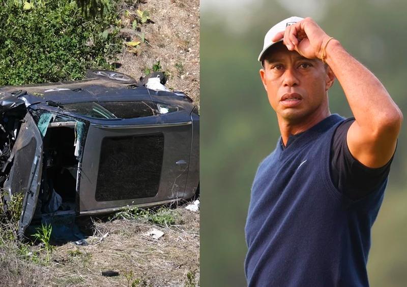 Tiger Woods vuelve a ser intervenido tras accidente automovilístico