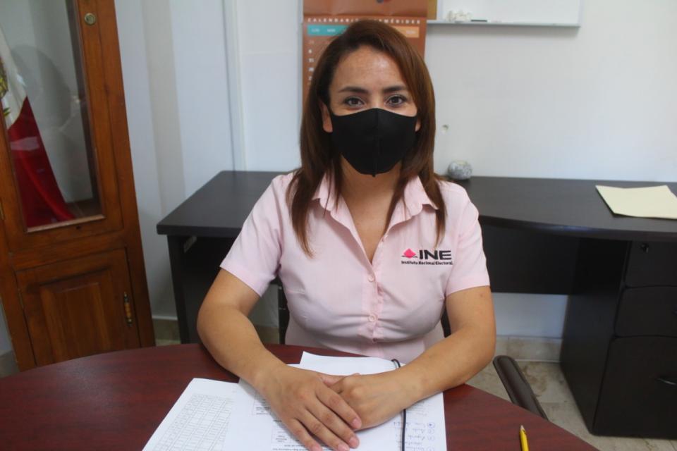 María Concepción Padilla Ramírez vocal registro federal de electores