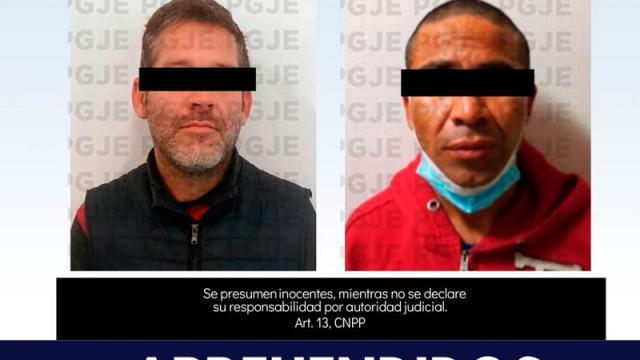 Aprehende PGJE a dos personas por delito de robo en BCS