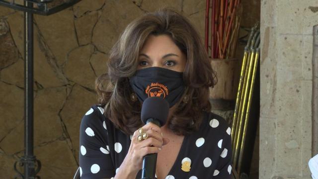 Mónica Elizabeth Espinoza Castelán, coordinadora del Grupo Madrugadores de Los Cabos