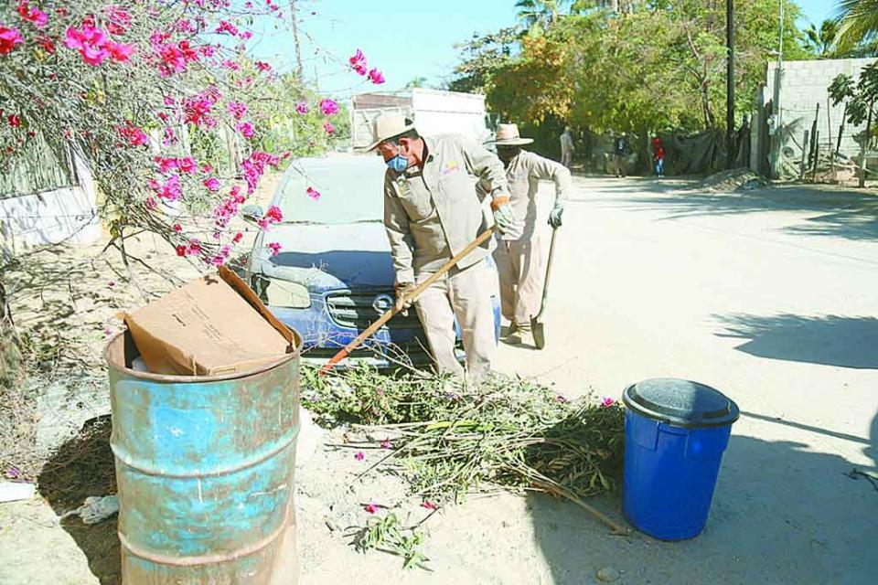 Más de 49 mil toneladas de basura retirados de las calles
