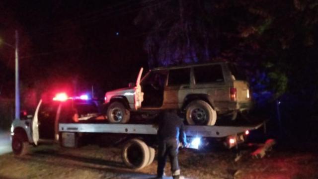 Vehículos reportados como robados en BCS