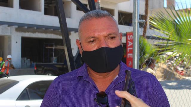 Luis Espinoza del sindicato de la CROC