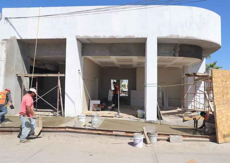 Avanza construcción del ISIPD